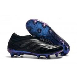 Chaussures Pour Homme Adidas Copa 19+ FG Noir Bleu
