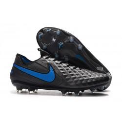Chaussures de Foot Nike Tiempo Legend 8 Elite FG - Noir Bleu