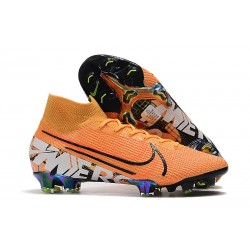 Nike Crampons Mercurial Superfly 7 Elite FG - Orange