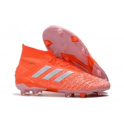 Chaussures De Football Adidas Predator 19.1 FG Hommes Orange