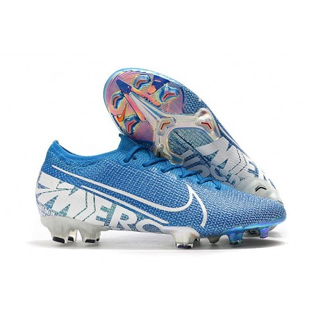 Crampons Nouveau Nike Mercurial Vapor 13 Elite FG New Lights Bleu
