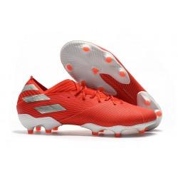 adidas Nemeziz 19.1 FG Chaussures - Rouge Argent