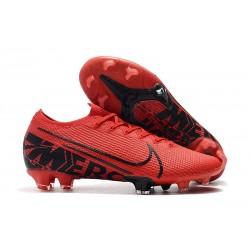 Crampons Nouveau Nike Mercurial Vapor 13 Elite FG Rouge Noir