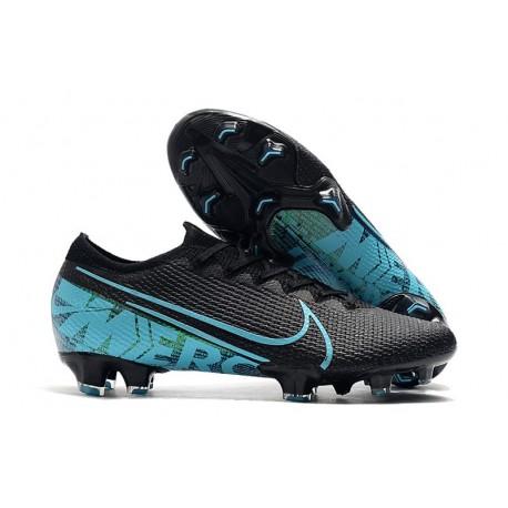 Crampons Nouveau Nike Mercurial Vapor 13 Elite FG Noir Bleu