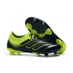 Neuf - Chaussures de Football Adidas Copa 19.1 FG Noir Vert