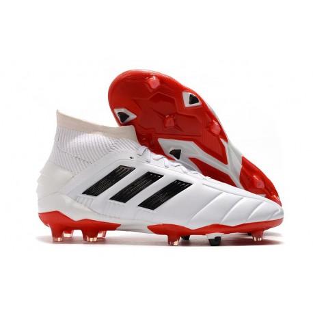 Chaussures De Football adidas Predator Mania 19.1 FG ADV Blanc