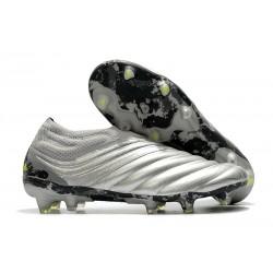 Chaussures Nouvelle adidas Copa 20+ FG Argent Jaune Solaire