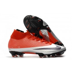 Chaussure Nike Mercurial Superfly VII Elite FG -Future DNA Rouge Argent