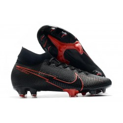 Nike Mercurial Superfly 7 Elite Dynamic Fit FG -Noir Rouge
