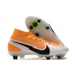 Nike Mercurial Superfly VII Elite DF SG-PRO Daybreak - Orange Laser Noir Blanc