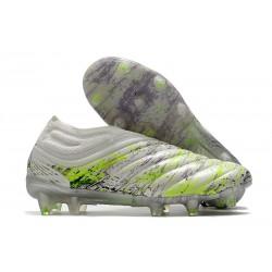 Chaussures Nouvelle adidas Copa 20+ FG Blanc Noir Vert