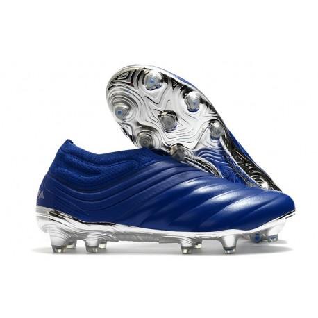 Chaussures Nouvelle adidas Copa 20+ FG Bleu Royal Argent