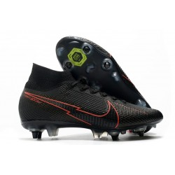 Nike Mercurial Superfly VII Elite DF SG-PRO Noir Rouge