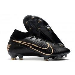 Nike Mercurial Superfly VII Elite FG ACC Noir Or