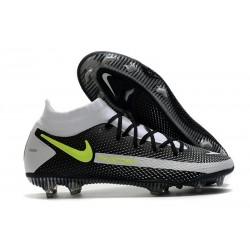 Nike Homme Phantom GT Elite DF FG Noir Or Vert