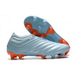 Chaussures Nouvelle adidas Copa 20+ FG Ciel Bleu Royal Corail