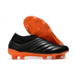 Chaussures Nouvelle adidas Copa 20+ FG Noir Orange