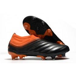 Chaussures Nouvelle adidas Copa 20+ FG Corail Noir Rouge Goire