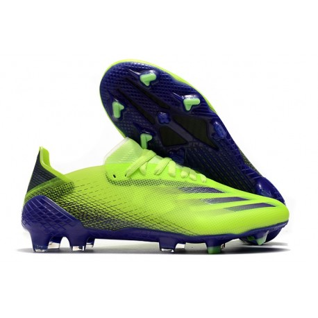 adidas X Ghosted.1 FG /AG Precision To Blur - Vert Violet Jaune