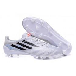 Chaussures de Football F50 Adizero Trx FG (Messi) Pour Hommes Blanc Noir