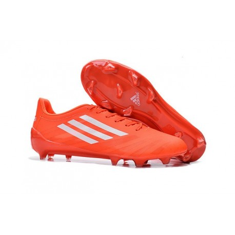 Trx Adizero F50 Blanc Homme Chaussures De Orange Fg Adidas Football 8v0mNnw