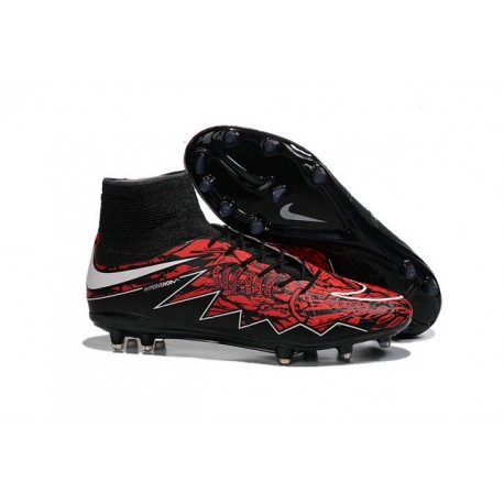 undefeated x lowest price info for Nouvelles Crampons Nike HyperVenom Phantom II FG Pas Cher Lewandowski Blanc  Rouge Noir