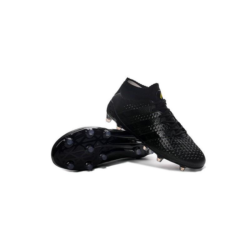 best sneakers ec3e9 cee65 Crampons Foot adidas ACE 16.1 Primeknit FGAG Hommes tout Noir Zoom.  Précédent. Suivant