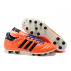 2015 Noueau Chaussures Adidas Copa Mundial FG Orange Violet Noir