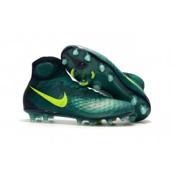 Nouvelles - Nike Magista Obra II FG - Crampons foot Turquoise Rio Volt Obsidienne Jade