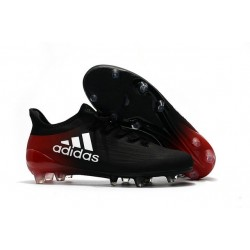 Crampons 2016 - Adidas X 16.1 FG Hommes - Noir Blanc Rouge