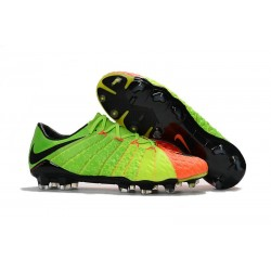 Nike Hypervenom Phantom 3 FG 2017 Chaussure Football - Vert Orange