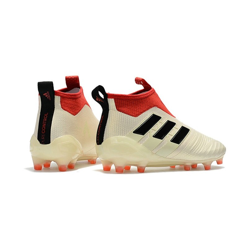Chaussure Homme Football Fg Adidas Blanc Ace17Purecontrol Rouge Noir e2DHEI9YbW