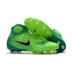 Nike Magista Obra 2 FG Chaussure Football - Vert Noir