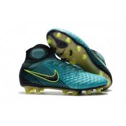 Nike Magista Obra 2 FG Chaussure Football - Bleu Volt Noir