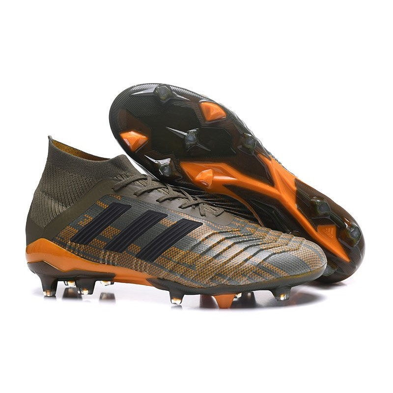 on sale 77ebf f6780 ... order nouvelles chaussures de football adidas predator 18.1 fg olive  f341d e7857