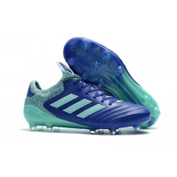 Nouvelles Crampons foot Adidas Copa 18.1 FG Bleu