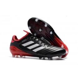 Nouvelles Crampons foot Adidas Copa 18.1 FG Noir Blanc Rouge