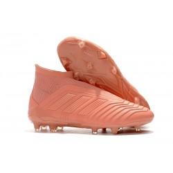 Chaussures de Football Pas Cher Adidas Paul Pogba Predator 18+ FG Rose