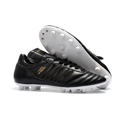 Chaussures de Football Adidas Copa Mundial FG Hommes Blanc Noir