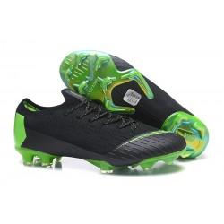 Crampons De Football Nike Mercurial Vapor XII Elite FG Vert Noir