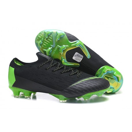 best cheap b4409 43609 ... official crampons de football nike mercurial vapor xii elite fg vert  noir 28c85 e8810