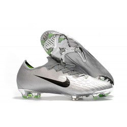 Crampons De Football Nike Mercurial Vapor XII Elite FG Noir Argent