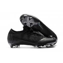 Crampons De Football Nike Mercurial Vapor XII Elite FG Noir