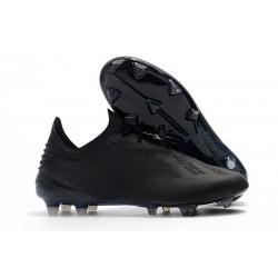 Crampons de football Adidas X 18.1 FG Pour Hommes - Tout Noir
